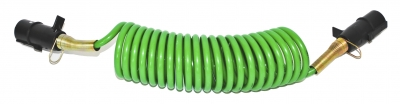4.5M Electrical Coil Green