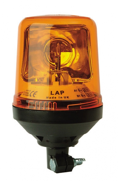 AMBER BEACON DIN MOUNT 12-24V
