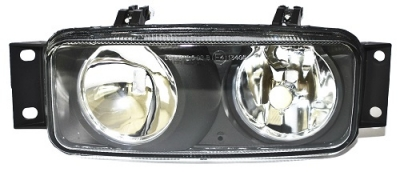 FOG & SPOT LAMP RH (CLEAR) Repl SCANIA 4