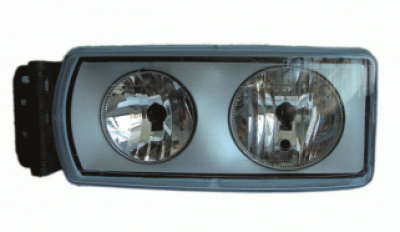 HEADLAMP L/H (Repl IVECO STRALIS/E-CARGO) C/W LOAD LEVELLING