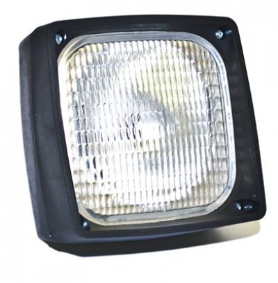 WORK LAMP (SQUARE) 139x139mm (BULB STYLE)