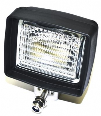 WORK LAMP (SQUARE) 128x146mm (BULB STYLE)
