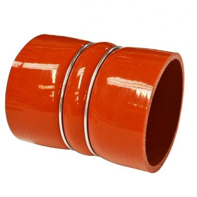 Silicone Hose Repl DAF XF95 D:100 x L:130mm RED