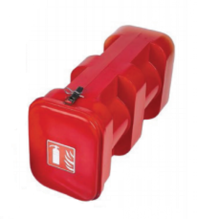 B&J FIRE EXT BOX TOP LOADER 9KG CAP